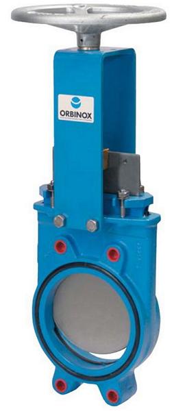 Задвижка шиберная ORBINOX ET-02 Ду500 Ру10